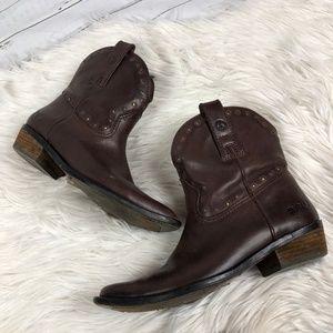 Lucky Brand Chantel Cowboy western boots